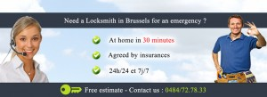 locksmith brussels emergency